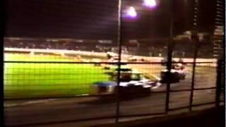 1989 Cowdenbeath Racewall Stock Car Racing Clip 1