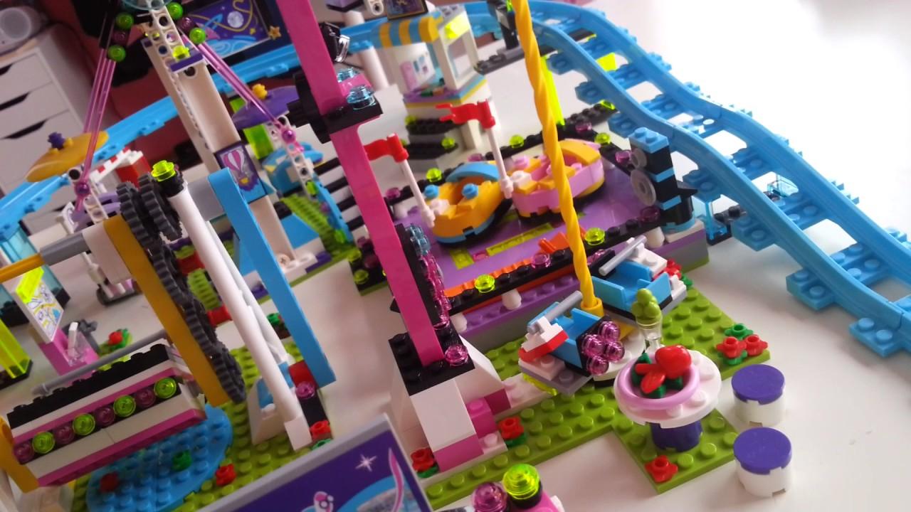 Emma Stephanie Olivia Und Andrea Im Freizeitpark Lego Friends