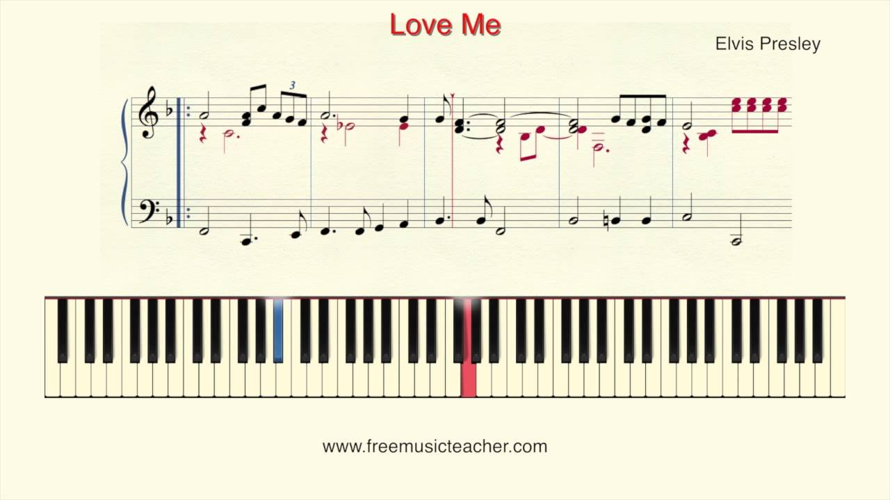 How to play piano elvis presley love me tender piano tutorial how to play piano elvis presley love me tender piano tutorial by ramin yousefi hexwebz Images