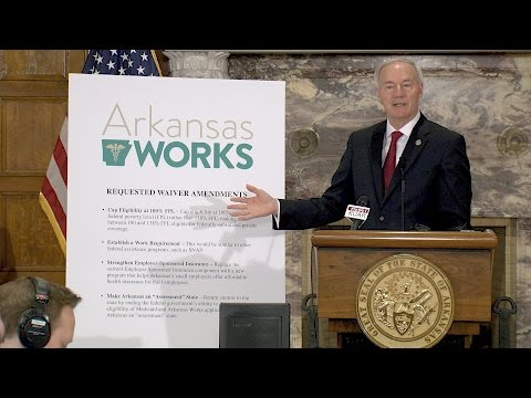 Gov. Hutchinson to Seek Changes to Arkansas Works Waiver, Legislation Needed