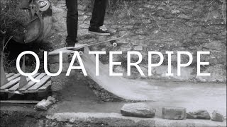 Krooks Diy Skatespot | First Skate Mini Quarterpipe