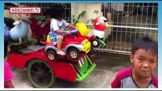 Naik Odong Odong Dan Boneka Larva Kids Toys