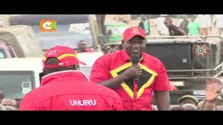 Uhuruto waongoza kampeni Kitengela