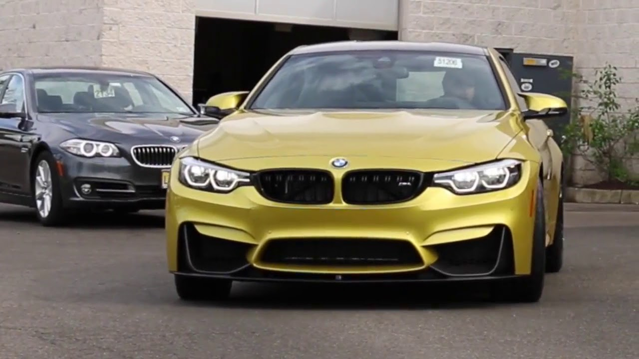 bmw m4 austin yellow 2018 youtube. Black Bedroom Furniture Sets. Home Design Ideas