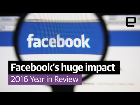Facebook's huge impact: Year in Review