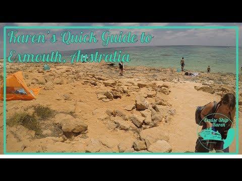 Karen's Quick Guide to Exmouth, Australia
