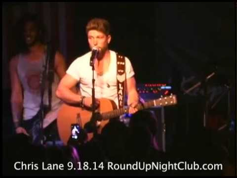Chris Lane Live Concert 9-18-14 Round Up Country Western Bar Davie Florida