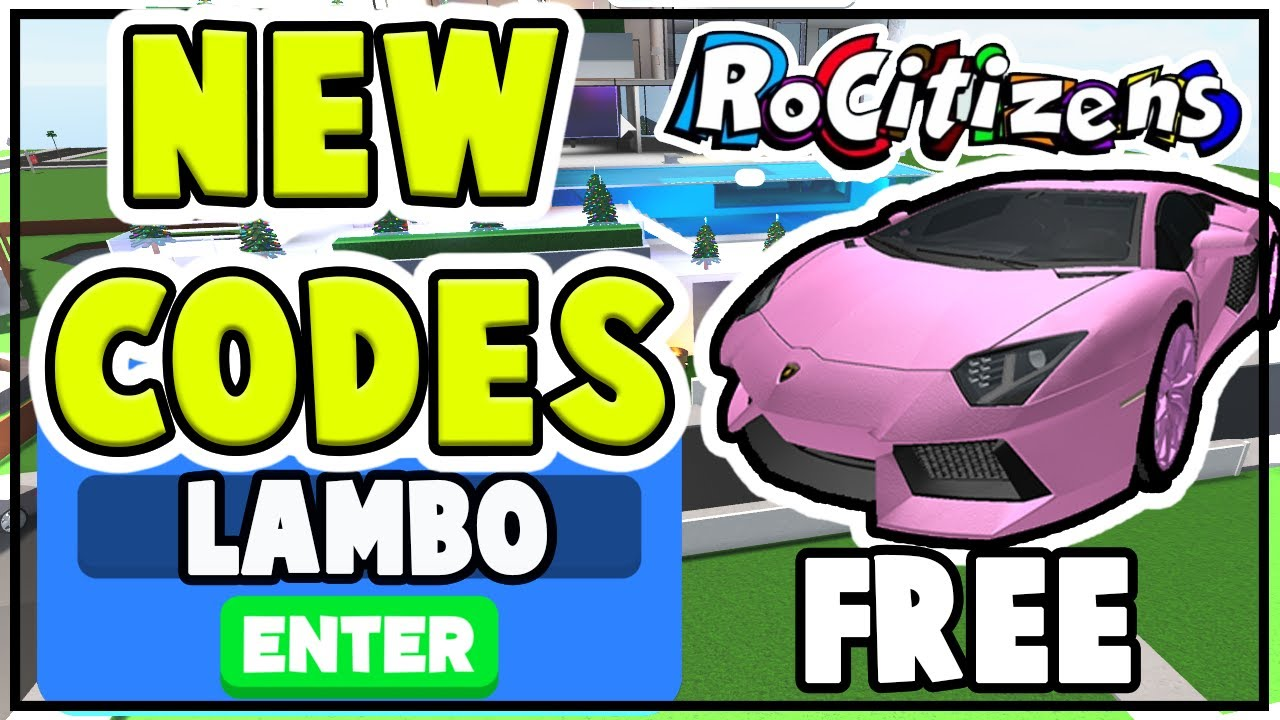 New Rocitizens Codes Free Cars And Money All Rocitizens Codes
