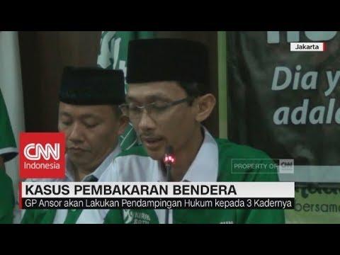 Pernyataan Sikap GP Ansor Soal Pembakaran Bendera