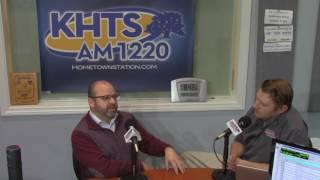 Michael Cruz  - City Council Applicant On KHTS (Jan 10, 2017) -- Santa Clarita