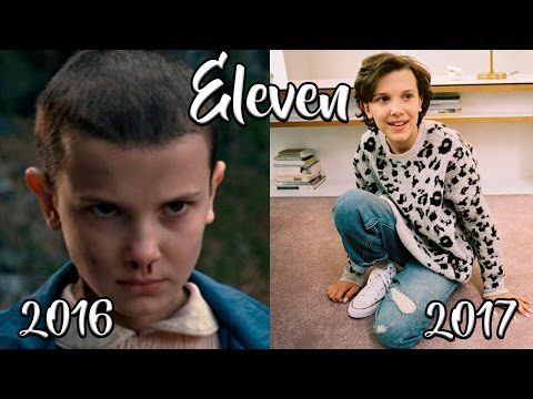 Stranger Things Before And After 2017