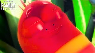 LARVA ISLAND 2 Clip - Iceberg Invasion with Red and Yellow   Netflix Kids and Family Series