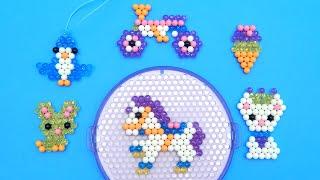 Beados Glitter Starter Set Kit Diy Kids Fun Craft Playset