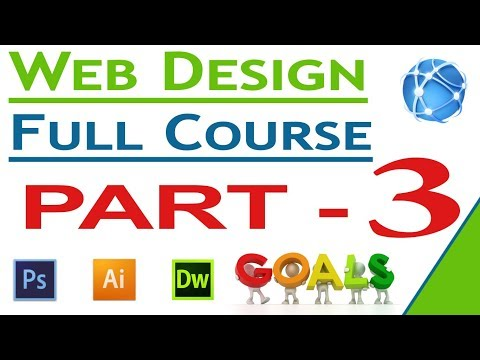 Web Design Photoshop Tutorial For Beginners In Hindi 2019  Must Watch Full Web Design Series 3 !!