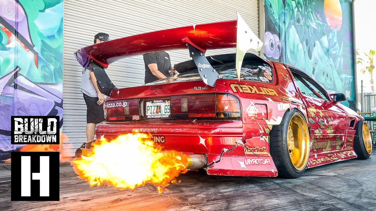 hert shreds his fire breathing rotary powered mazda rx7 the
