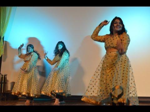 Nanhi mo pade aji ghungura dance performance on Utkala Divasa 2017, IIT Bombay