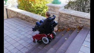 Caterwil - stairclimbing wheelchair for real mobility