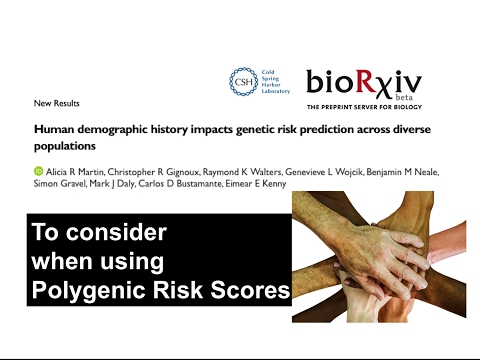 Genetic risk prediction across diverse human populations - Alicia Martin