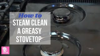 Dupray Neat Steam Cleaner: Clean a Dirty and Greasy Range Hood Fast!!