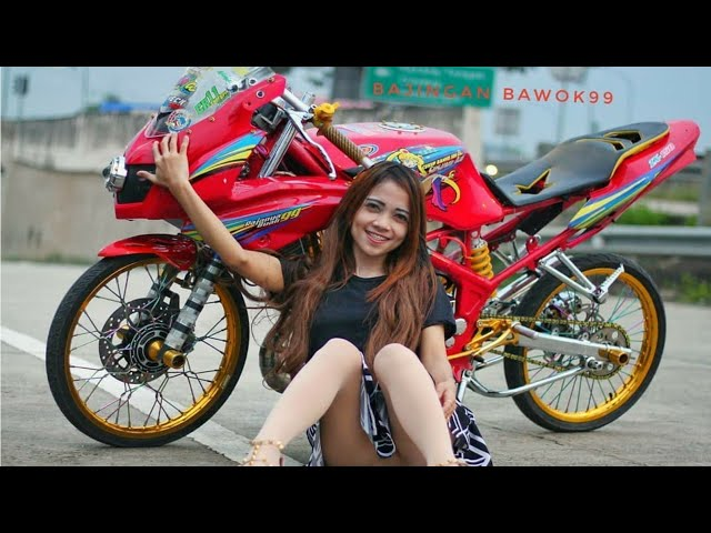Modifikasi Ninja rr kontes terbaik di Indonesia    Kawasaki Ninja    Model Ninja Cantik Terbaru