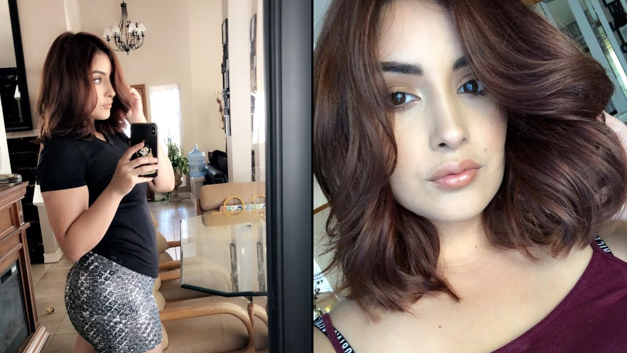How To Red To Light Golden Brown Hair