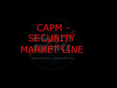 CAPM, Security Market Line, SML