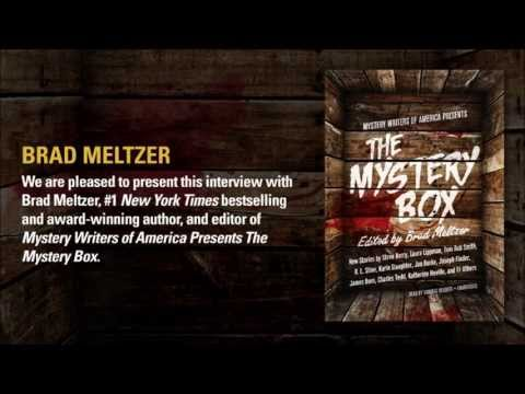 """Brad Meltzer talks about """"Decoded"""" and the Mystery Writers of America"""