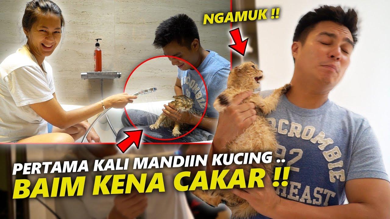Goldie Nyakar Baim Pertama Kali Baim Sama Paula Mandiin Kucing Youtube