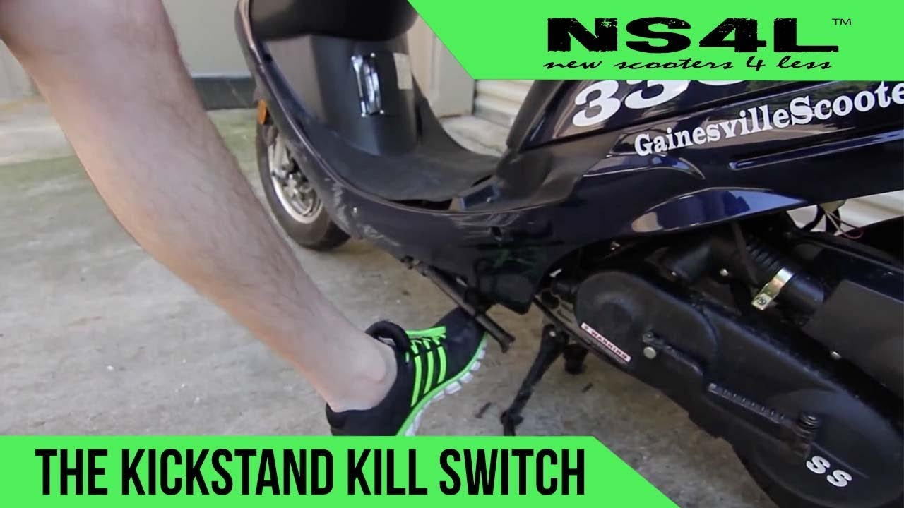 Kickstand Kill Switch | Scooter Startup Troubleshooting