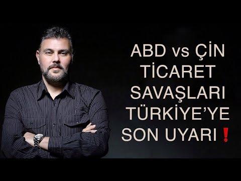 ABD vs ÇİN TİCARET SAVAŞLARI TÜRKİYE'YE SON UYARI! | MURAT MURATOĞLU