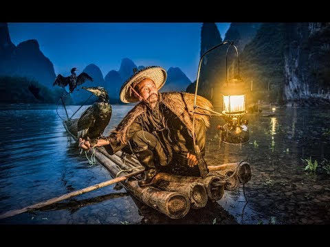 Photographing Cormorant Fishermen in China