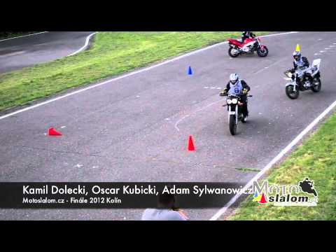 Motoslalom.cz - Finále 2012, tréning borců z polska