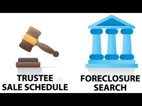 PropertyRadar - How to Use Foreclosure Search  & Trustee Sale Schedule