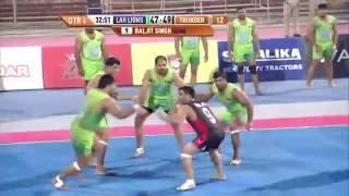 World Kabaddi League, Day 37: Lahore Lions Vs. Punjab Thunder