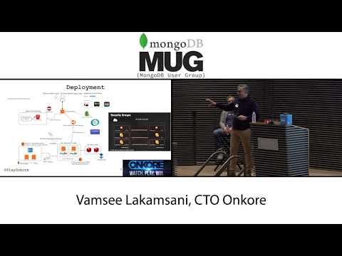 Using MongoDB Atlas at Onkore