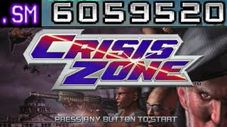 Crisis Zone PS2 1 Credit Clear 6,059,520 Points
