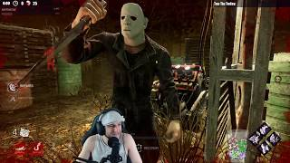 Dead by Daylight RANK 4 SURVIVOR! - 100% CHEATER!