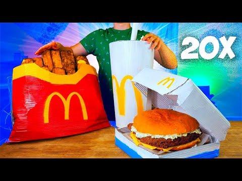УВЕЛИЧИЛИ МЕНЮ McDonald's