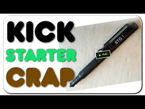Kickstarter Crap - Personalized Tactical Pen