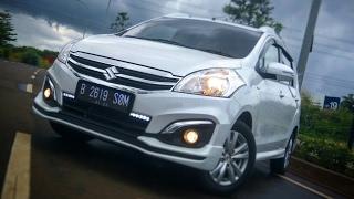 Suzuki Ertiga GX A/T Facelift (2017) Start Up & Review Indonesia