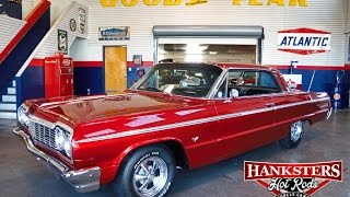 1964 Chevy Impala SS Ember Red, 327ci 2-Speed Automatic