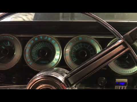 1967 Dodge Charger Electroluminescent Dash