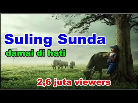 Seruling Sunda Dengan Suasana Pedesaan Tempo Dulu | The Best Relaxation Music in Java
