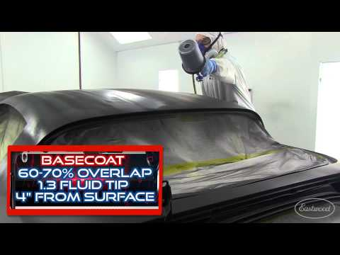 How To Paint a Car with the Eastwood Concours Pro HVLP Paint Gun