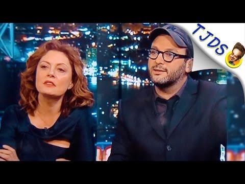 "Susan Sarandon Slams Chris Hayes: ""You're A Journalist, Right!?""-"