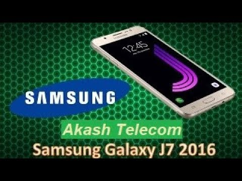 Galaxy J7 Glass Only Replacement FULL GUIDE   J7 2016 by AKASH TELECOM
