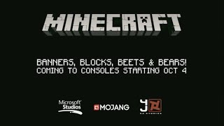 Minecraft Console TU43 OFFICIAL TRAILER OCTOBER 4th 1.9 And 1.10