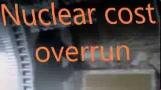 Nuclear cost overrun