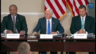 Trump's Election Integrity Commission First Meeting-Opening Statements thumbnail