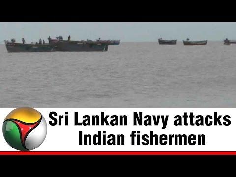 Sri Lankan Navy attacks Indian fishermen near Kodiyakarai